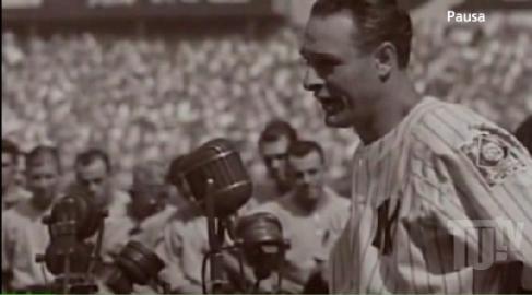 """Lou Gehrig:  """"el hombre más afortunado '  del Béisbol"""